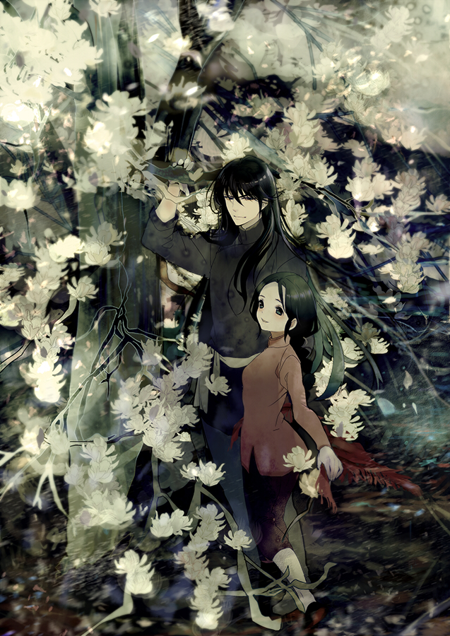1boy 1girl black_hair chinese_clothes dragon_shiryuu isi88 long_hair saint_seiya shunrei
