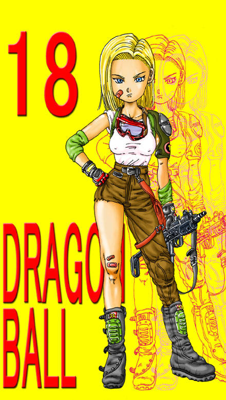 android_18 dragon_ball dragon_ball_z tagme