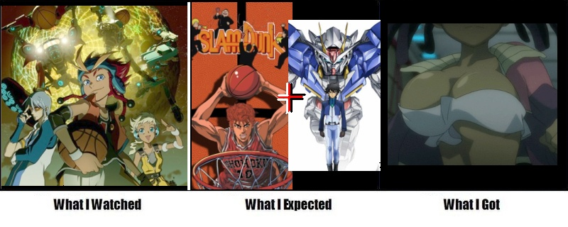 ayukawa_miyuki basketball basquash! dan_jd gundam gundam_00 sela_d_miranda slam_dunk what_i_watched_what_i_expected_what_i_got