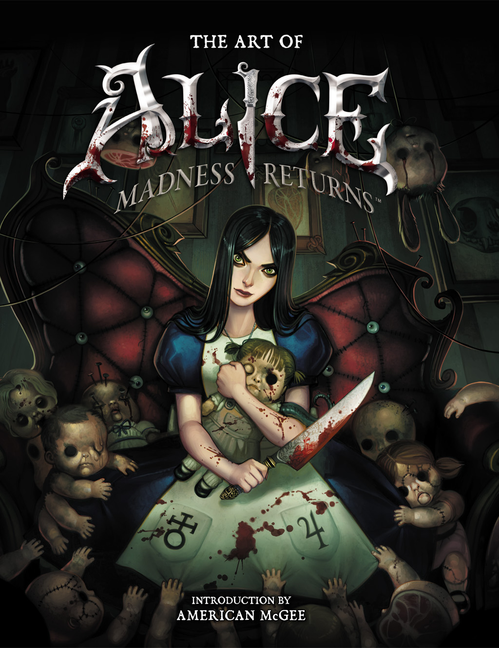 alice:_madness_returns alice_(wonderland) alice_in_wonderland alice_liddell american_mcgee's_alice artbook chair cover doll highres official_art