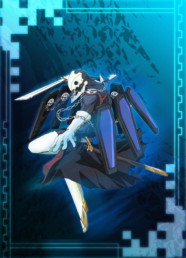 arisato_minato chain chains marara persona persona_3 sword thanatos weapon