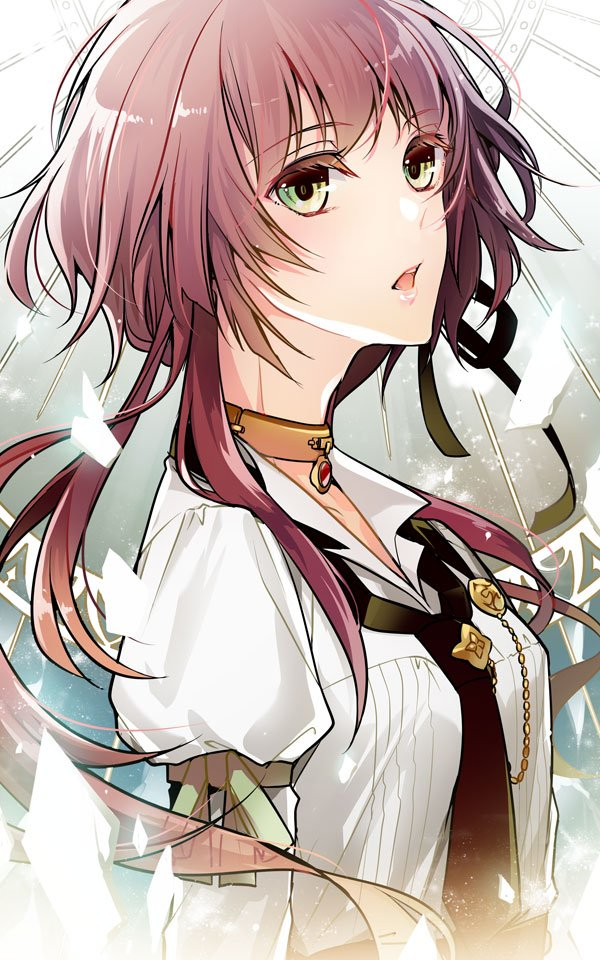 brown_hair collar_x_malice green_eyes hoshino_ichika ouka_mai