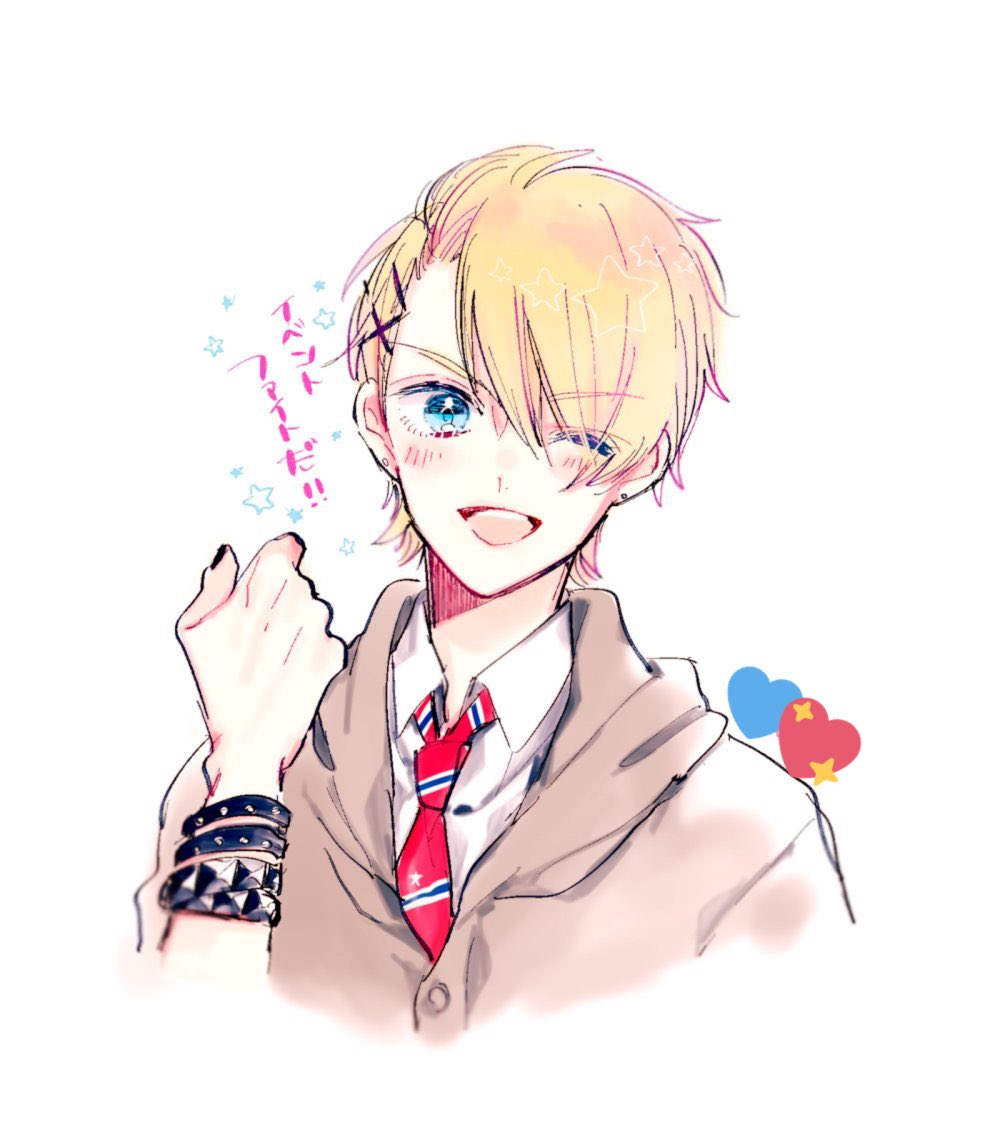 blonde_hair blue_eyes hnk kurusu_shou uta_no_prince-sama