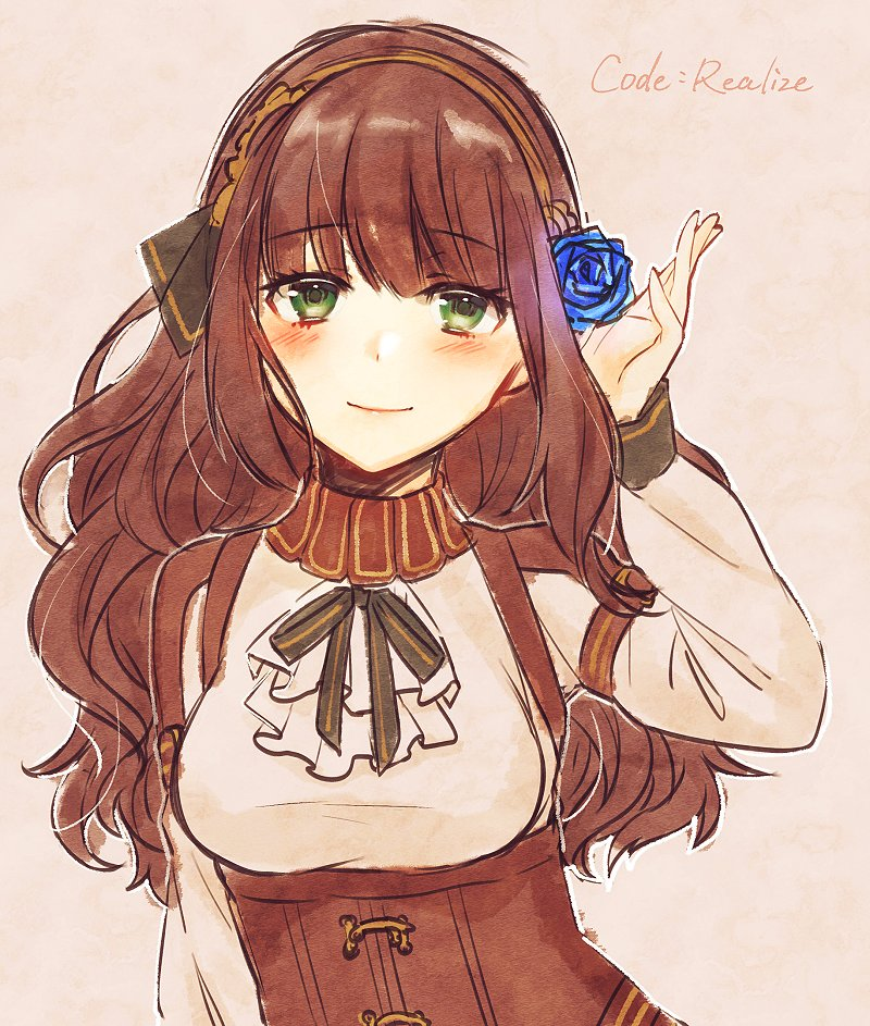 brown_hair cardia_(code:_realize) code:_realize green_eyes moyui_(myi_005)