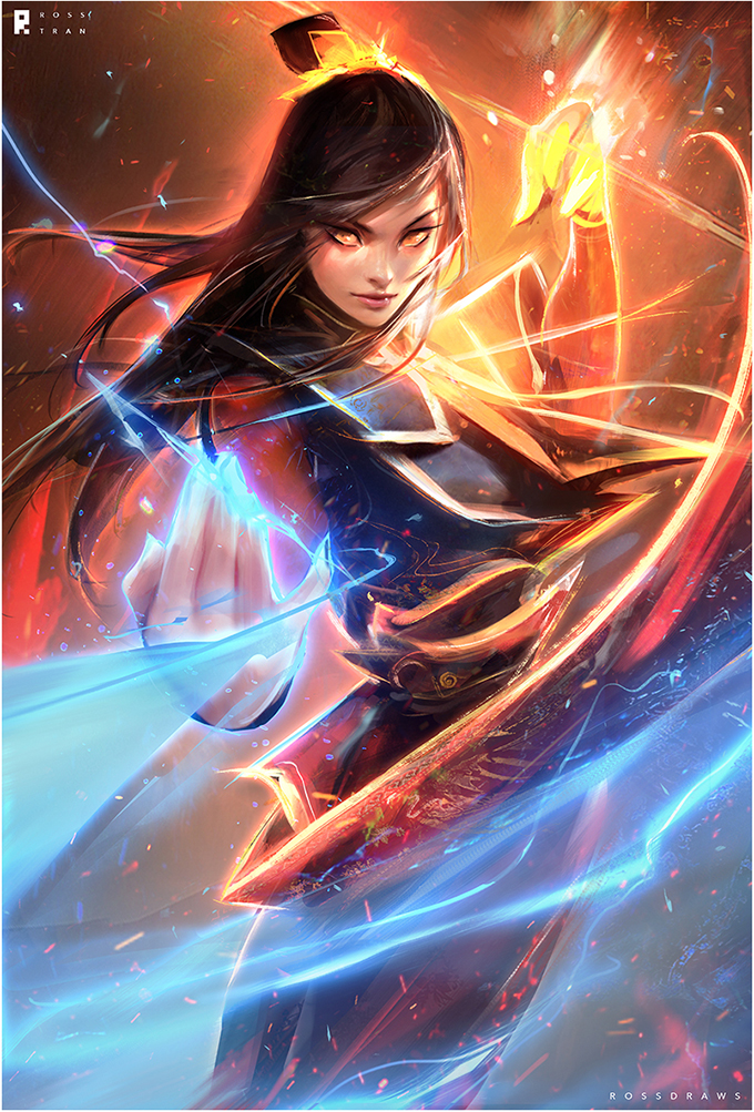 avatar:_the_last_airbender avatar_(series) azula black_hair china_dress chinese_clothes dress fire lightning lips long_hair tagme yellow_eyes
