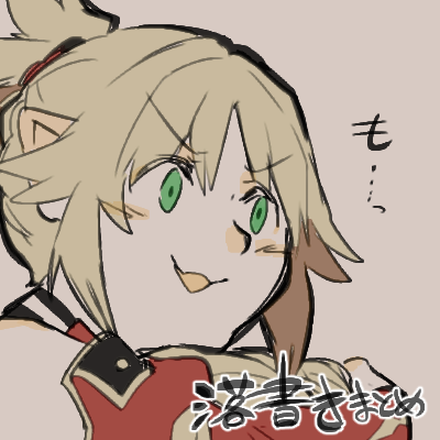 blonde_hair fate/apocrypha fate/grand_order fate_(series) green_eyes lowres mordred_(fate) mordred_(fate)_(all) takatsuki_nato