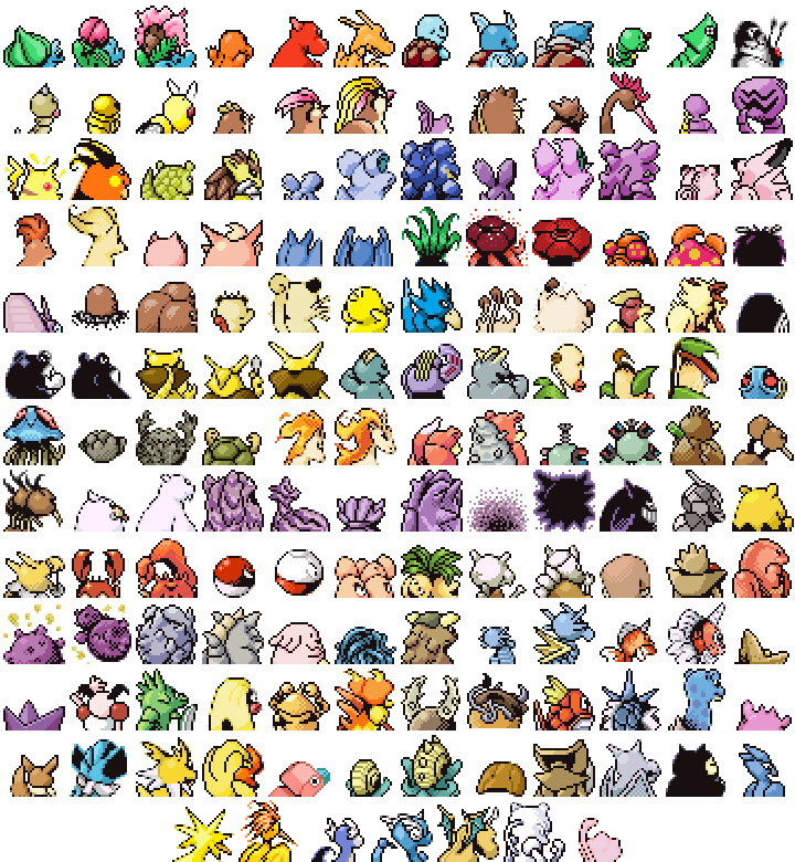 abra absolutely_everyone aerodactyl alakazam arbok arcanine arms_up articuno bat bee beedrill bellsprout bird blastoise blonde_hair bone boxing_gloves bulbasaur butterfly butterfree caterpie chansey charizard charmander charmeleon chefbravo clefable clefairy cloyster crab creature cubone dewgong diglett ditto dodrio doduo dragonair dragonite dratini drowzee dugtrio eevee egg ekans electabuzz electrode english_commentary everyone evil_smile exeggcute exeggutor farfetch'd fearow fiery_hair fighting_stance fire fish flareon flexing from_behind gastly gen_1_pokemon gengar geodude ghost gloom golbat goldeen golduck golem_(pokemon) graveler grimer grin growlithe gyarados haunter hitmonchan hitmonlee holding holding_bone holding_spoon horn horns horse horsea hypno insect ivysaur jigglypuff jolteon jynx kabuto_(pokemon) kabutops kadabra kakuna kangaskhan kingler koffing krabby lapras lickitung long_hair machamp machoke machop magikarp magmar magnemite magneton mankey marowak meowth metapod mew mewtwo moltres mr._mime muk multiple_heads nidoking nidoqueen nidoran nidorina nidorino ninetales no_humans oddish omanyte omastar onix paras parasect persian pidgeot pidgeotto pidgey pikachu pinsir pixel_art pokemon pokemon_(creature) pokemon_(game) pokemon_rgby poliwag poliwhirl poliwrath ponyta porygon pose primeape psyduck raichu rapidash raticate rattata rhydon rhyhorn sandshrew sandslash scyther seadra seaking seel shell shellder simple_background slowbro slowpoke smile smoke snake snorlax spearow spiked_shell squirtle starmie staryu tangela tauros tentacool tentacruel tongue tongue_out transformed_ditto vaporeon venomoth venonat venusaur victreebel vileplume voltorb vulpix wartortle weedle weepinbell weezing white_background white_horse wigglytuff wings zapdos zubat