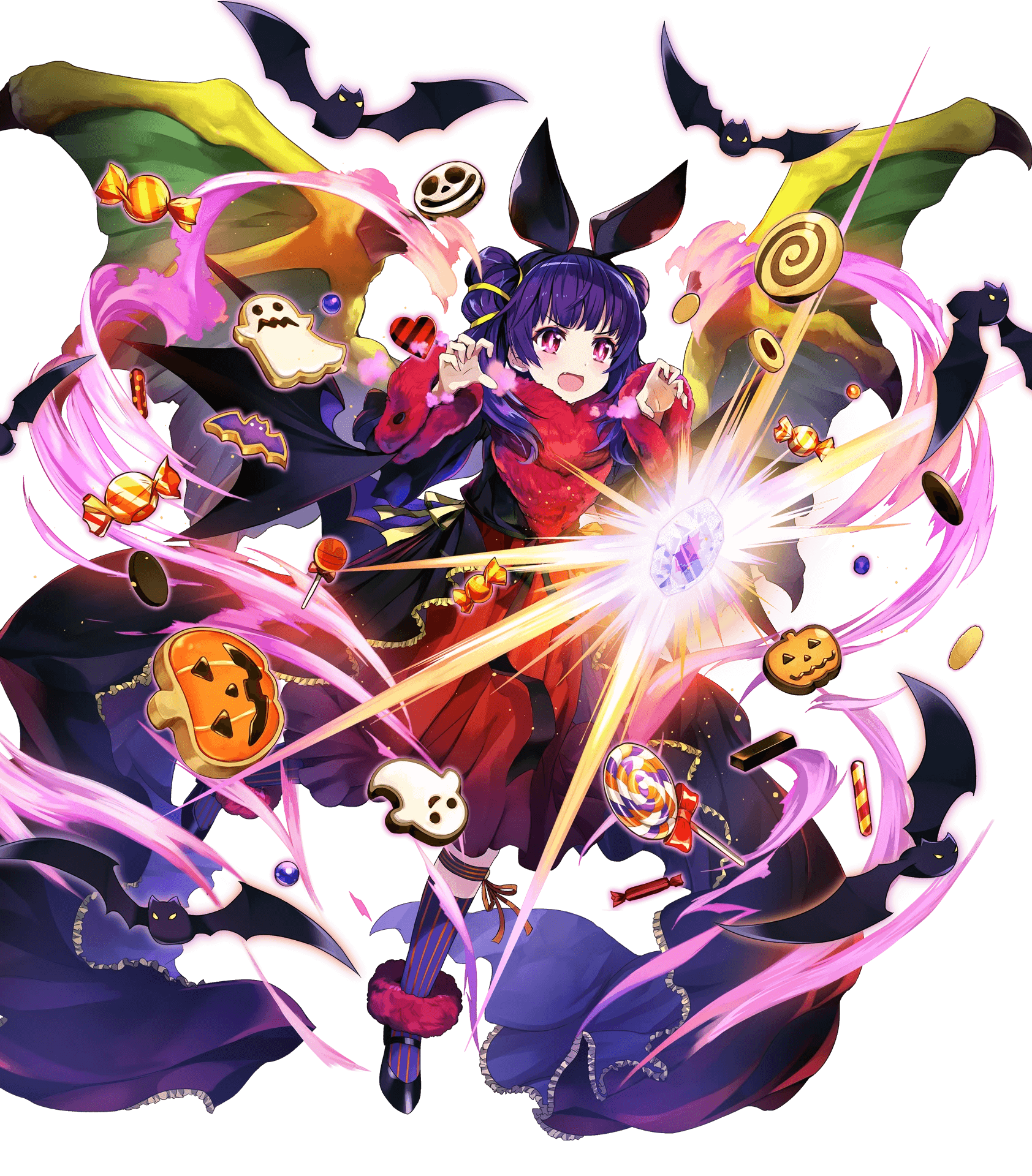 1girl dragon_wings fire_emblem fire_emblem:_seima_no_kouseki fire_emblem_heroes highres long_hair myrrh nintendo official_art transparent_background wings