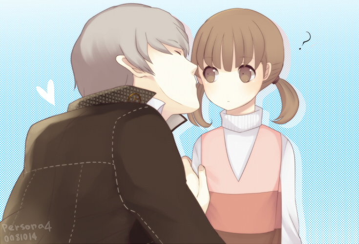 harano narukami_yuu persona persona_4 protagonist_(persona_4) seta_souji