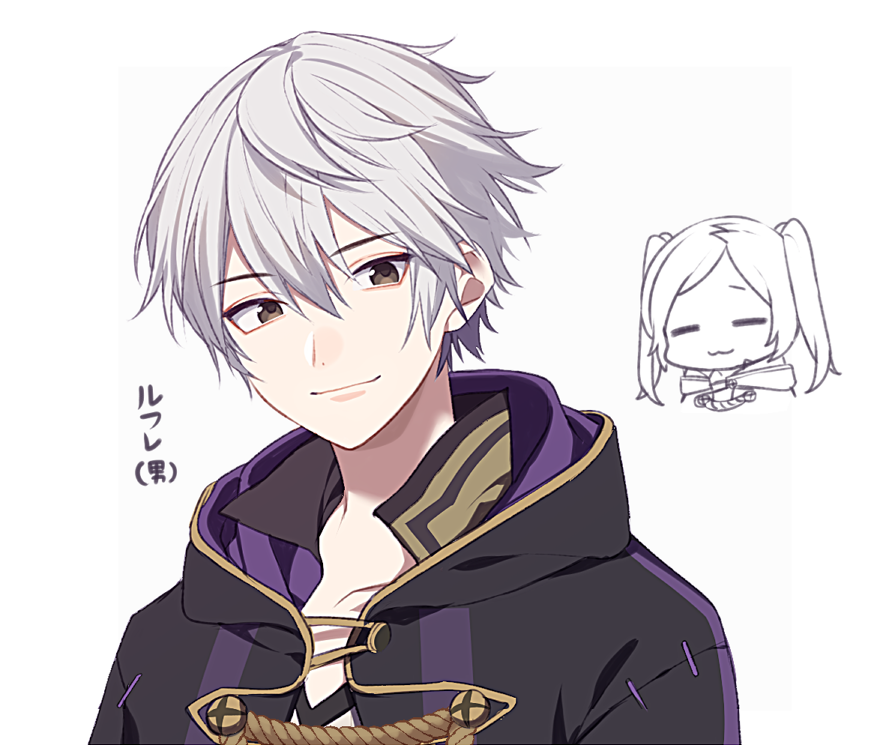 1boy 1girl :3 =_= blush brother_and_sister cape female_my_unit_(fire_emblem:_kakusei) fire_emblem fire_emblem:_kakusei fire_emblem_awakening fire_emblem_heroes gloves hood intelligent_systems long_hair looking_at_viewer male_my_unit_(fire_emblem:_kakusei) mamkute my_unit_(fire_emblem:_kakusei) nintendo reflet robin_(fire_emblem) robin_(fire_emblem)_(female) robin_(fire_emblem)_(male) ryon_(ryonhei) short_hair siblings silver_hair simple_background smile super_smash_bros. super_smash_bros_brawl super_smash_bros_for_wii_u_and_3ds twintails white_hair