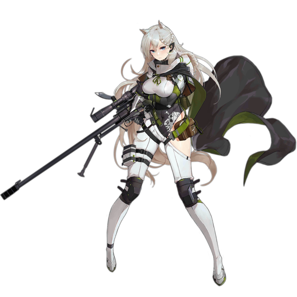 1girl animal_ears ankle_strap anti-materiel_rifle arm_under_breasts asymmetrical_clothes asymmetrical_pants bag bangs bipod blonde_hair blue_eyes blush braid breasts cloak combat_knife covered_navel cropped_jacket elbow_gloves floating_hair full_body fur-trimmed_cloak fur_trim girls_frontline glasses gloves green-framed_eyewear grey_cloak grey_gloves grey_leotard gun headset hip_vent holding holding_gun holding_knife holding_weapon jacket knee_pads knife ksvk_(girls_frontline) ksvk_12.7 large_breasts leotard long_hair looking_at_viewer mechanical_arm multiple_straps official_art pandea_work pants parted_lips pouch ribbed_leotard rifle scarf shoes sidelocks skindentation smoke_grenade snap-fit_buckle sniper_rifle solo thick_eyebrows thigh_strap transparent_background trigger_discipline very_long_hair weapon white_jacket white_pants wind
