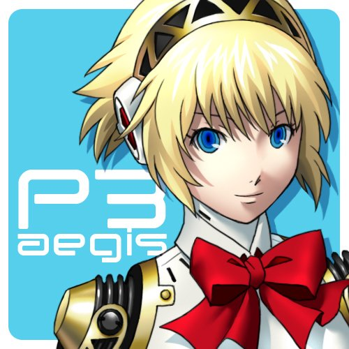 00s 1girl aegis_(persona) asami_(undoundo) atlus bangs black_hairband blonde_hair blue_eyes bow bowtie character_name closed_mouth copyright_name female_focus hairband humanoid_robot lowres megami_tensei persona persona_3 red_bow red_neckwear robot robot_girl shiny shiny_hair short_hair smile solo tomboy