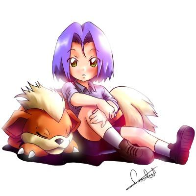adorable_balinese blush green_eyes growlithe kojirou_(pokemon) lowres pokemon pokemon_(anime) pokemon_(creature) sleeping team_rocket toddler