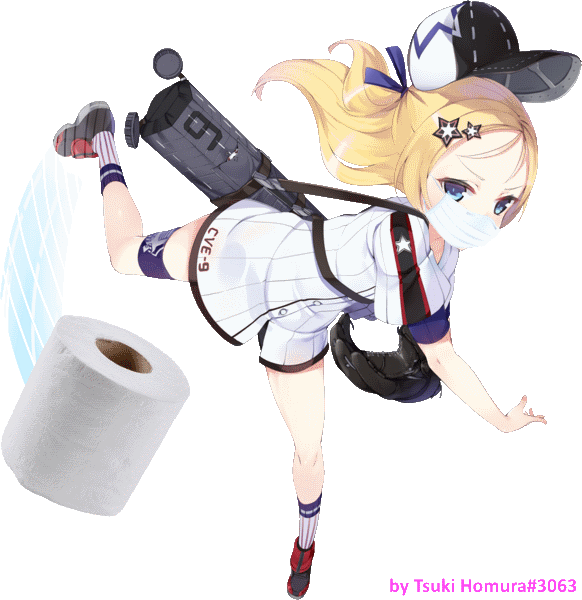 azur_lane blonde_hair bogue_(azur_lane) coronavirus eagle_union_(emblem)_(azur_lane) football football_uniform meme sportswear third-party_edit toilet_paper