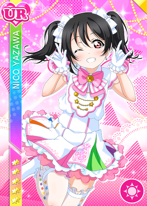 black_hair blush character_name dress long_hair love_live!_school_idol_festival love_live!_school_idol_project red_eyes yazawa_nico