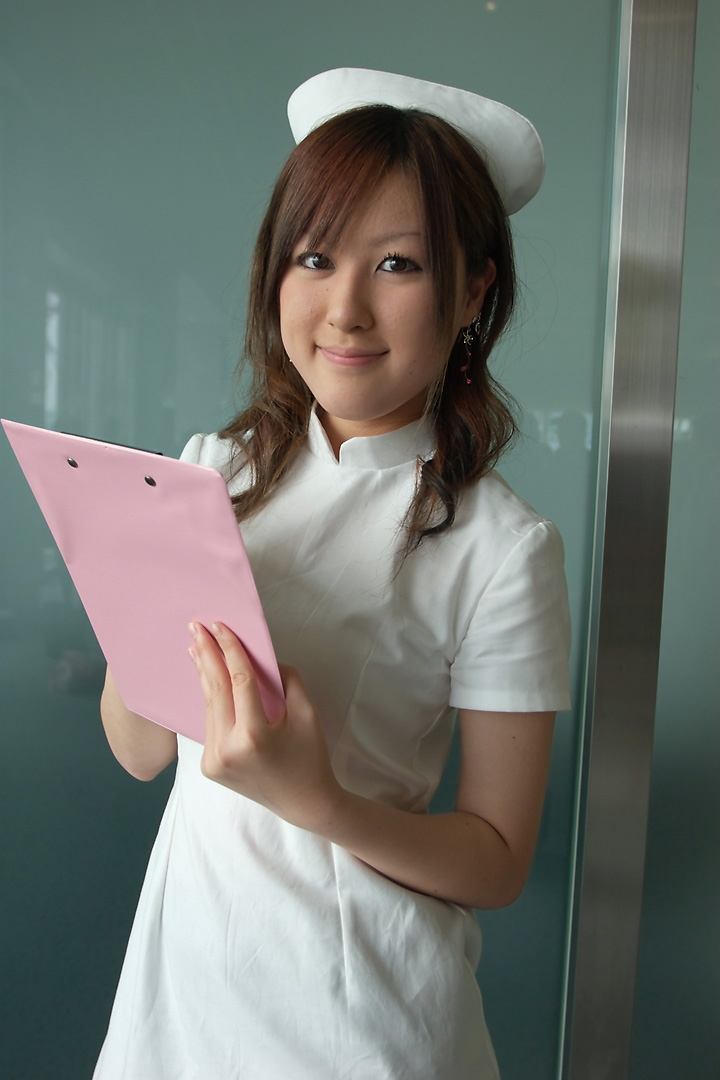 clipboard cosplay maron nurse nurse_uniform