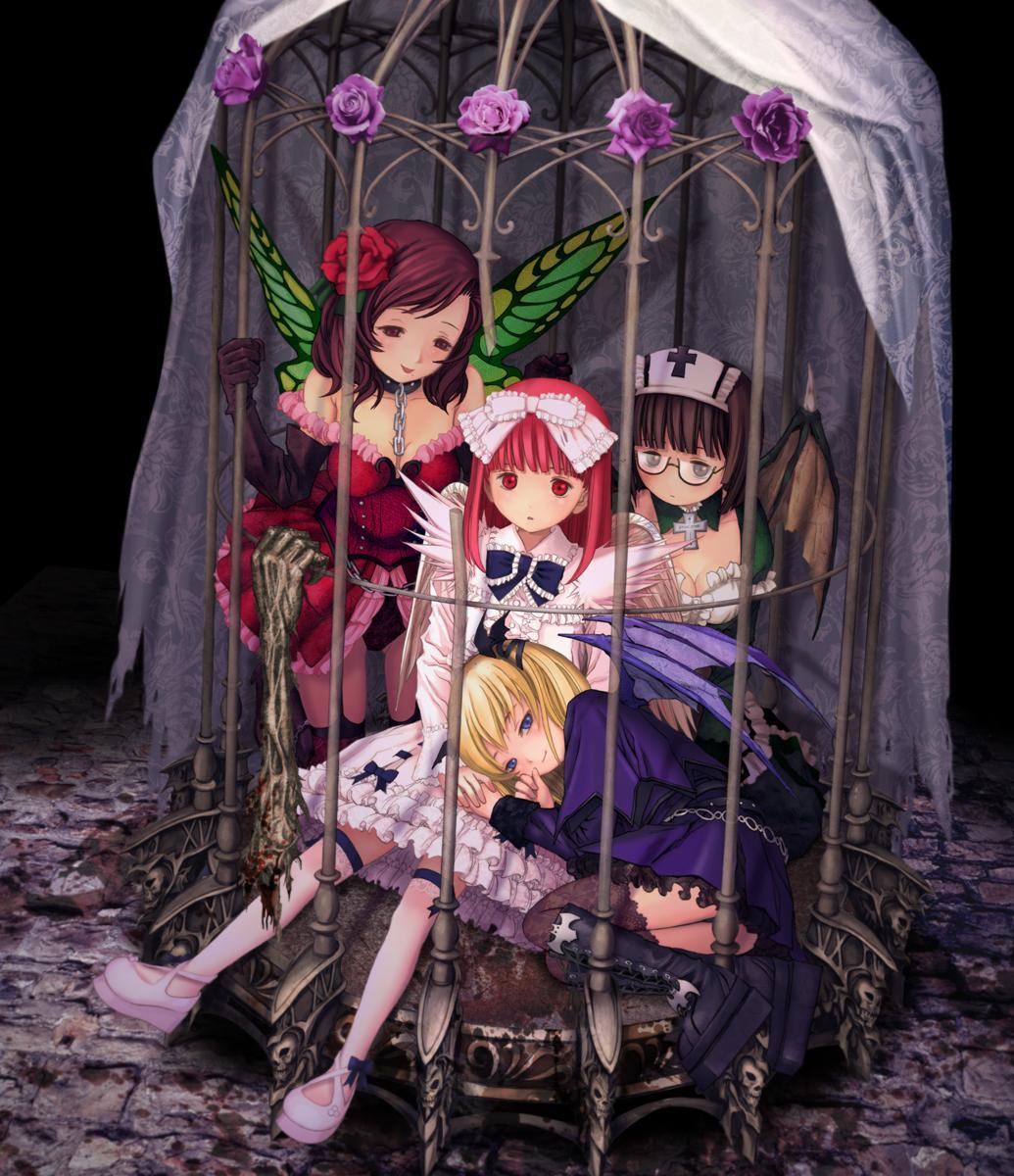 Fantasy animated bondage agree