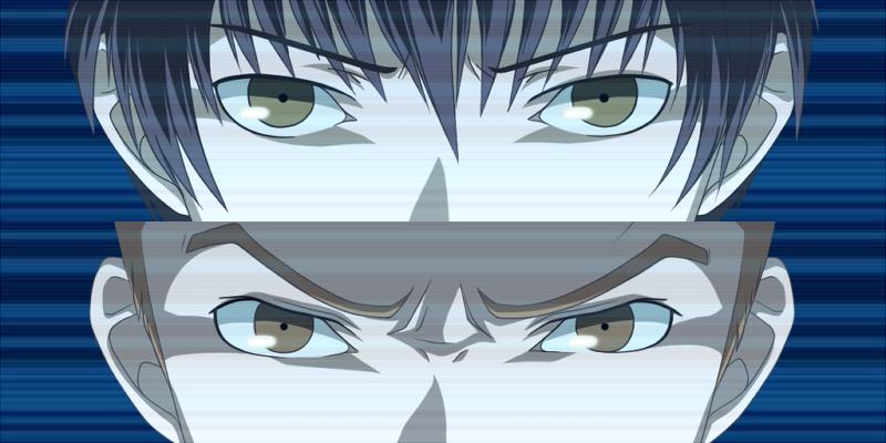 column_lineup ichijou_kou male nagase_daisuke persona persona_4 persona_eyes
