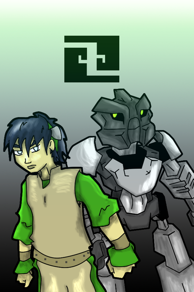 avatar:_the_last_airbender bionicle crossover toa_onua toph_bei_fong