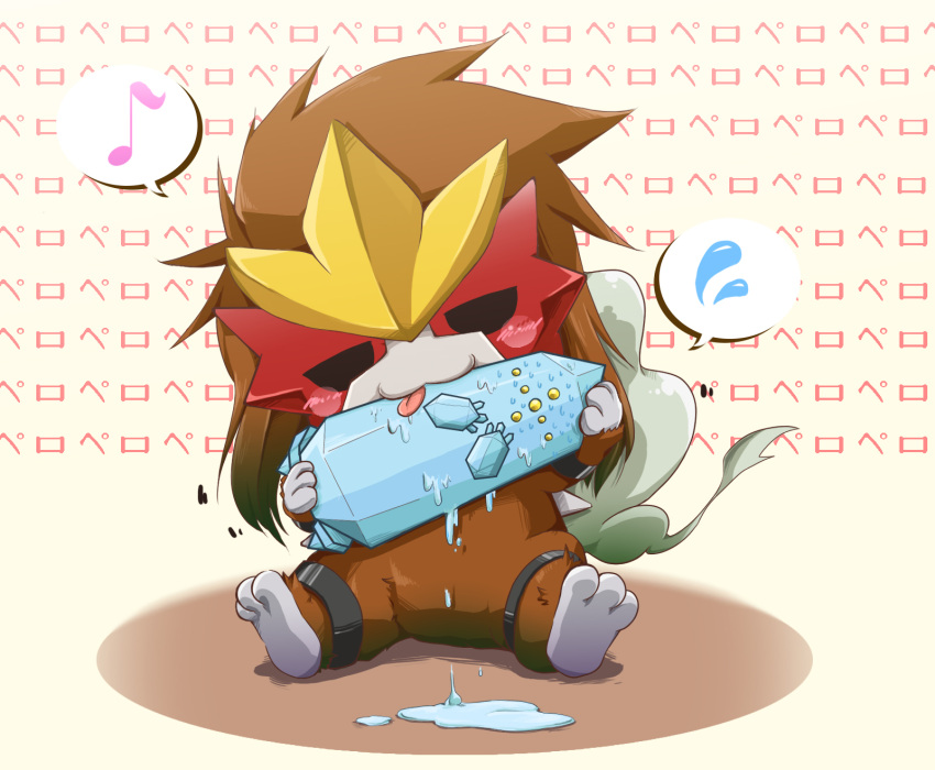 chibi entei monster nintendo no_humans pokemon pokemon_(game) regice