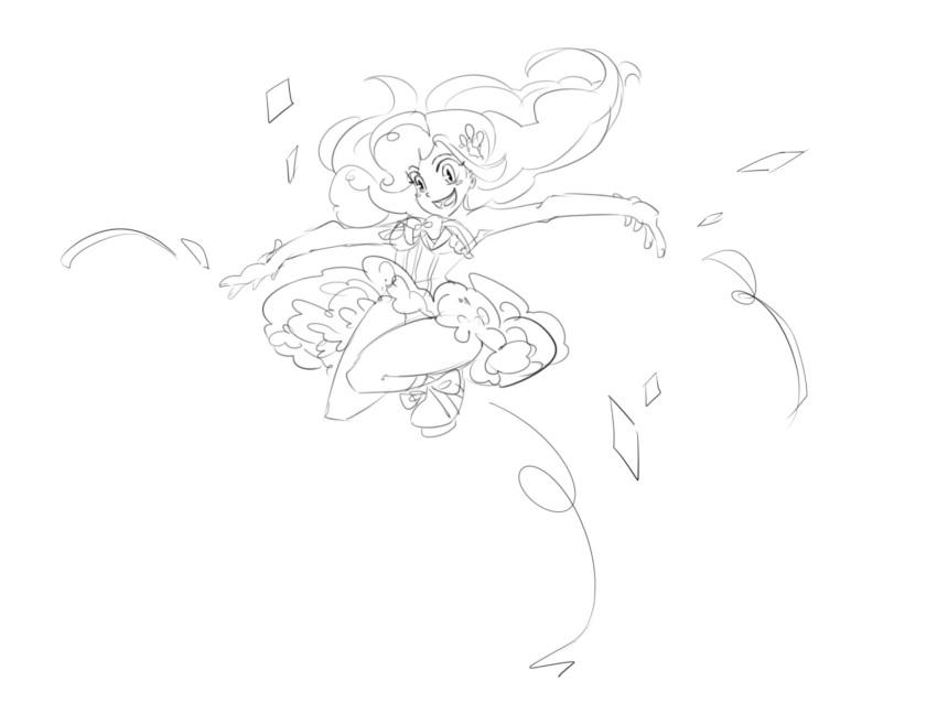 daikoku manegirls monochrome my_little_pony my_little_pony_friendship_is_magic personification pinkie_pie