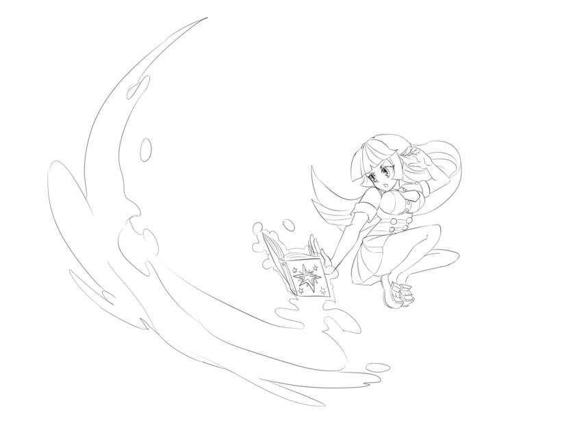 daikoku manegirls monochrome my_little_pony my_little_pony_friendship_is_magic personification twilight_sparkle