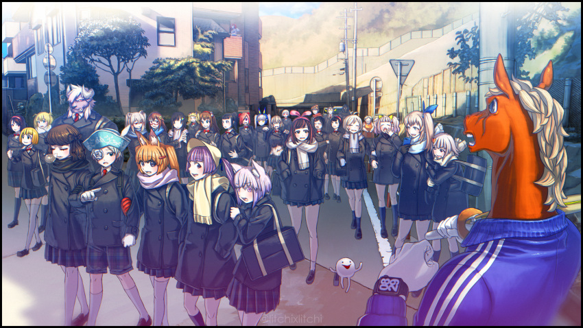 6+boys 6+girls a.i._channel akkun_daimaou akkun_daimaou_(character) animal_ears aoi_ch. apron bacharu_(youtube) bag balcony black_bow black_coat black_hair black_legwear blonde_hair blue_hat blue_ribbon bonnet bow brown_hair cafe_no_zombi-ko cat_ears cecil_channel cyclops dansei_virtual_youtuber_bacharu deep_blizzard dennou_shoujo_youtuber_shiro duffel_coat flower fox_ears fuji_aoi fujisaki_yua glasses gloves hair_bow hair_ornament hairclip harupopo_channel haruse_popo hat highres hoonie_(hoonie_friends) hoonie_friends horns horse_head house inui_channel inui_shin'ichirou kaguya_luna kaguya_luna_(character) kimino_yumeka kimino_yumeka_official kizuna_ai koi-chan_(koimina_channel) koimina_channel kurumi_(zettai_tenshi_kurumi-chan) long_hair looking_at_another medium_hair midy midy_sakkyoku_virtual_youtuber miniskirt mirai_akari mirai_akari_project mochi_hiyoko mochi_hiyoko_(character) moemi moemi_&_yomemi_channel multiple_boys multiple_girls neets_channel nemu_(nemu_channel) nemu_channel neral neral's_doll_house nora_cat nora_cat_channel one-eyed ono-chan open_mouth orange_apron orange_hair outdoors pink_eyes pink_hair pink_ribbon pointing ponytail purple_fur purple_hair raichi_(litchixlitchi) red_headband red_neckwear ribbon road road_sign rose saihate_no_maou_deep_blizzard sayo-chan scarf school_uniform sekai_kurumi sekai_kurumi_virtual_youtuber shinai shiratori_amaha shiratori_amaha_virtual_yuri_ojousama shiro_(dennou_shoujo_youtuber_shiro) short_hair shorts shoulder_bag sign silver_hair skirt sleepwalking suada suzuki_cecil sword telephone_pole thigh-highs todoki_uka tokino_sora tokino_sora_channel track_suit twintails uka's_room virtual_gorilla virtual_gorilla_(character) virtual_obaachan virtual_obaachannel virtual_youtuber vt-212 watch watch weapon white_flower white_hair white_legwear white_rose yua_(youtube) zettai_ryouiki zettai_tenshi_kurumi-chan zombi-ko_channel