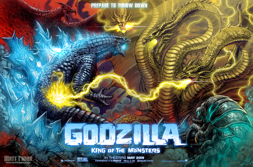 alien battle bioluminescence blue_eyes bug building caterpillar city claws commentary conjoined cross deity destruction dinosaur dragon dragon_horns dragon_wings electricity embers energy english_commentary epic fangs fire glowing glowing_eyes god goddess godzilla godzilla:_king_of_the_monsters godzilla_(2019) godzilla_(series) green_eyes horns hydra insect kaiju_samurai kaijuu king_ghidorah king_ghidorah_(2019) king_ghidorah_(godzilla:_king_of_the_monsters) legendary_pictures lightning monster monsterverse moth mothra mothra_(2019) mothra_(godzilla:_king_of_the_monsters) movie_poster multiple_heads multiple_tails no_human no_humans open_mouth red_eyes rodan rodan_(2019) rodan_(godzilla:_king_of_the_monsters) scales science_fiction sharp_teeth smoke spikes tail teeth text toho_(film_company) wings yellow_eyes