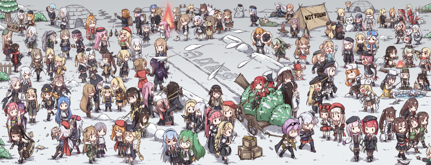 >_< <|>_<|> 0_0 404_(girls_frontline) 404_logo_(girls_frontline) 6+girls 9a-91_(girls_frontline) :3 :d :o a_bao aa-12_(girls_frontline) absurdres aek-999_(girls_frontline) afterimage ahoge ak-12_(girls_frontline) ak-74u_(girls_frontline) ak47_(girls_frontline) alcohol alternate_hair_color ammo_box an-94_(girls_frontline) anger_vein angry animal animal_ears animal_hat anti-rain_(girls_frontline) antlers architect_(girls_frontline) arm_warmers as_val_(girls_frontline) asymmetrical_legwear aug_(girls_frontline) axe back_bow bag bandana bangs bare_shoulders basket beanie bear beer bell bell_choker belt beret beretta_model_38_(girls_frontline) black_dress black_footwear black_gloves black_hair black_hairband black_headwear black_jacket black_legwear black_neckwear black_pants black_skirt blonde_hair blue_footwear blue_hairband blue_headwear blue_jacket blue_ribbon blue_sailor_collar blue_skirt blunt_bangs blush blush_stickers bonfire boots bottle bow box braid braided_bun breasts brown_footwear brown_gloves brown_hair brown_jacket brown_pants brown_skirt bunny_hair_ornament buttons c-ms_(girls_frontline) c96_(girls_frontline) cabbie_hat campfire camping candy cape carcano_m1891_(girls_frontline) carcano_m91/38_(girls_frontline) cat_ears cat_tail catapult chair cheering choker christmas_tree clapping closed_eyes closed_mouth clothes_around_waist coat colt_m1873_(girls_frontline) commentary_request contender_(girls_frontline) cross cross-laced_footwear cross_hair_ornament crossed_arms cup cz-75_(girls_frontline) defy_(girls_frontline) detached_sleeves diving_mask double_bun dress drinking drinking_glass empty_eyes english_text eyepatch eyewear_on_head facing_away fal_(girls_frontline) famas_(girls_frontline) fence ferret fingerless_gloves fish fishing fishing_rod five-seven_(girls_frontline) fn-49_(girls_frontline) fnc_(girls_frontline) food fox_ears fox_tail frilled_dress frilled_headband frilled_skirt frills fur-trimmed_gloves fur-trimmed_hat fur-trimmed_jacket fur_hat f