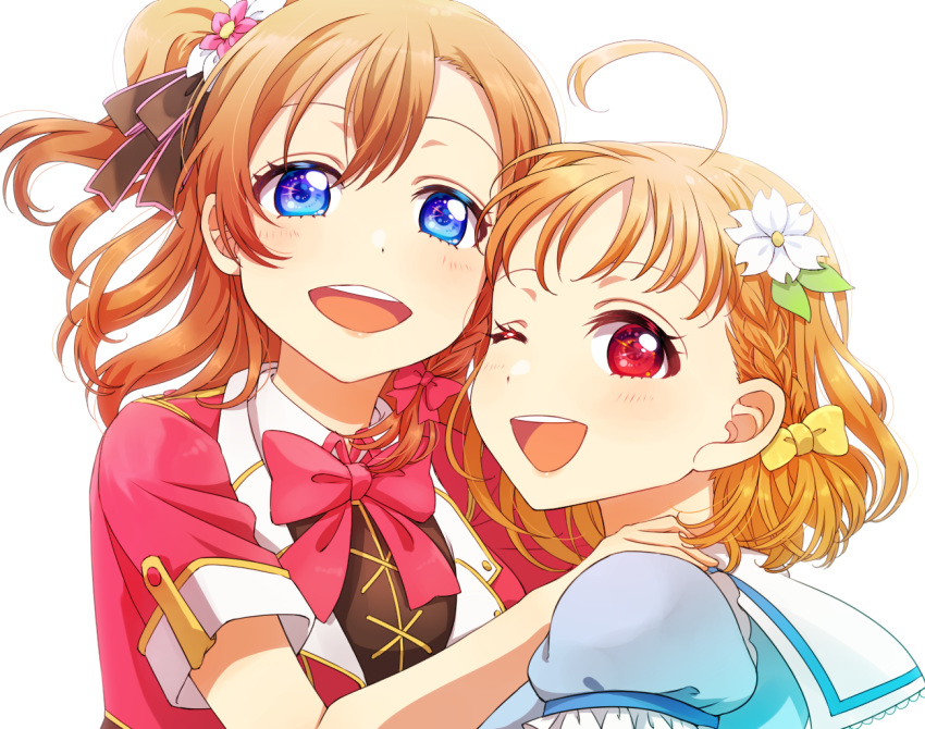 3girls bent_over group_name heru_(totoben) kurosawa_dia love_live! love_live!_sunshine!! multiple_girls school_uniform squatting standing star starry_background takami_chika thigh-highs tsushima_yoshiko uranohoshi_school_uniform