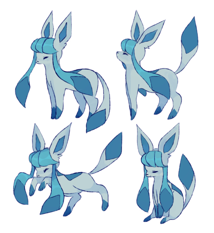 charamells commentary creature english_commentary full_body no_humans pokemon pokemon_(creature) simple_background white_background