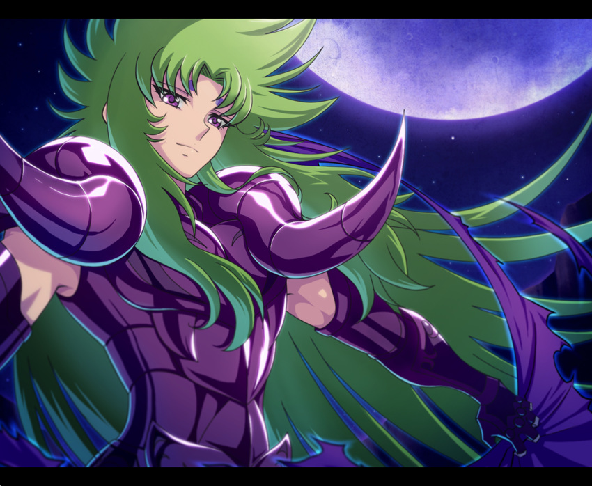 aries_shion armor artist_request night outdoors saint_seiya