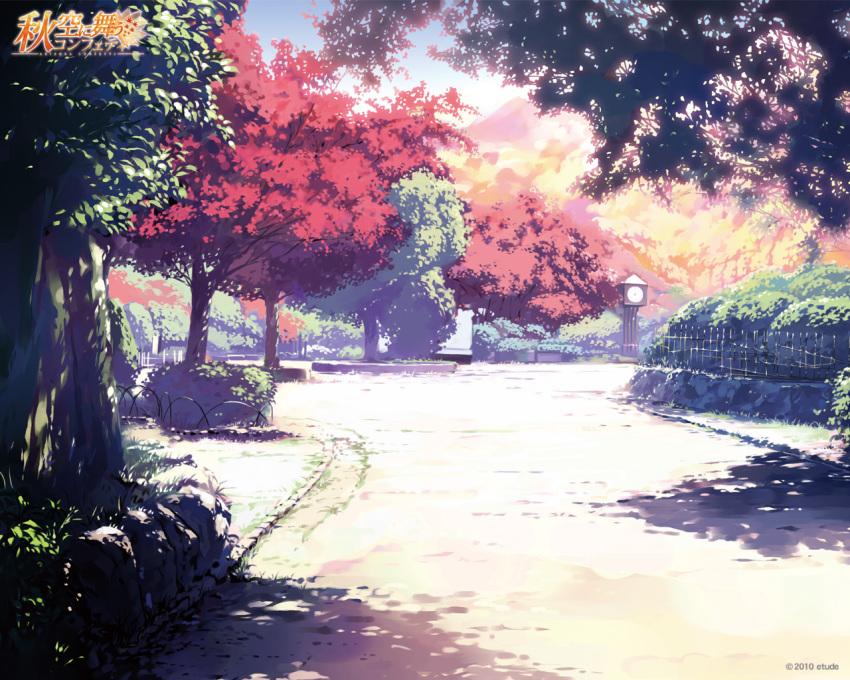 akizora_ni_mau_confetti etude landscape ueda_ryou wallpaper