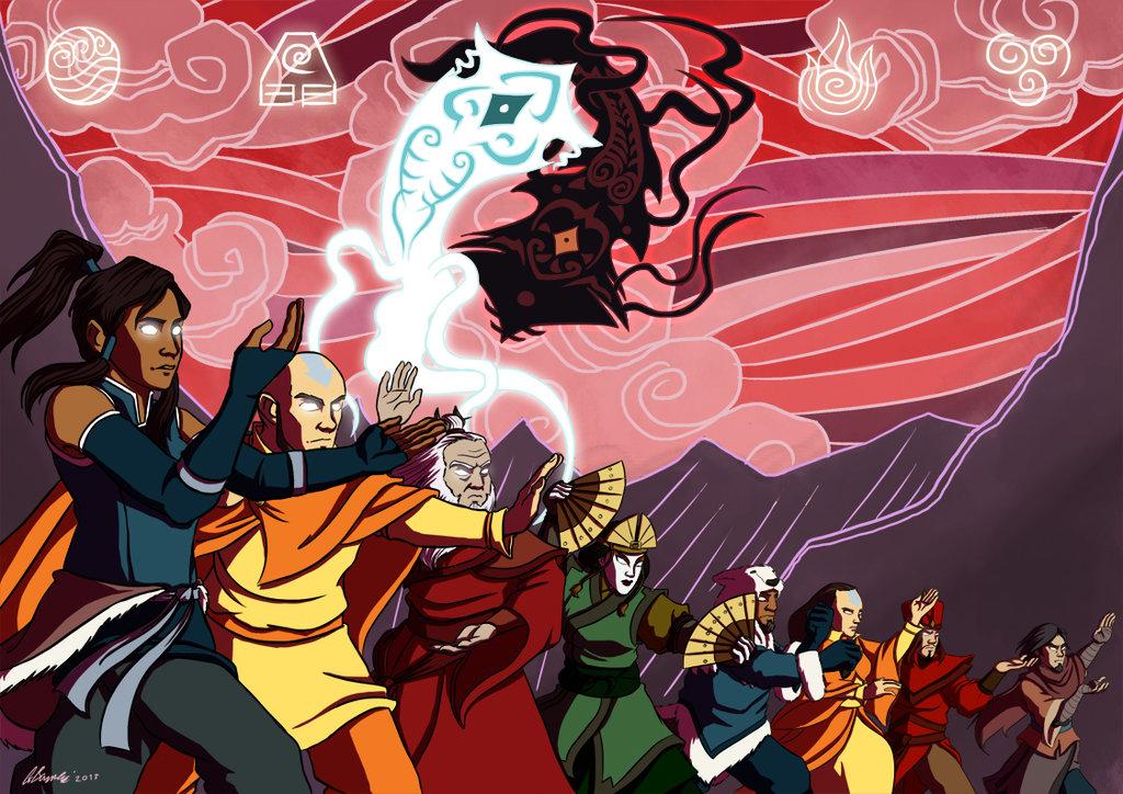 Avatar the last airbender avatar kyoshi