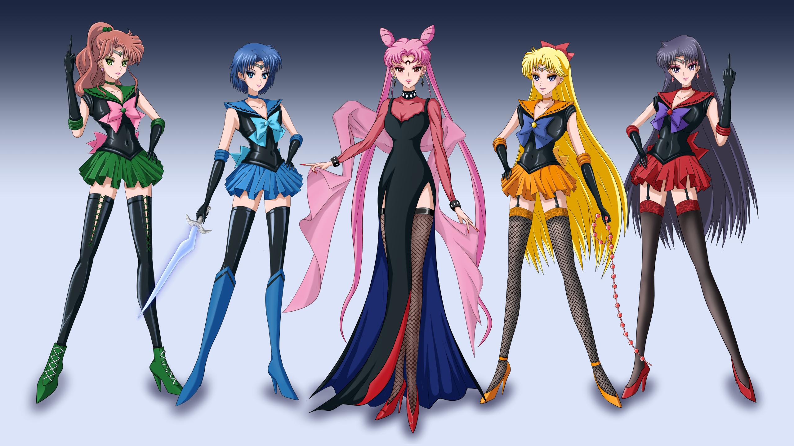 Safebooru 5girls Aino Minako Bishoujo Senshi Sailor Moon