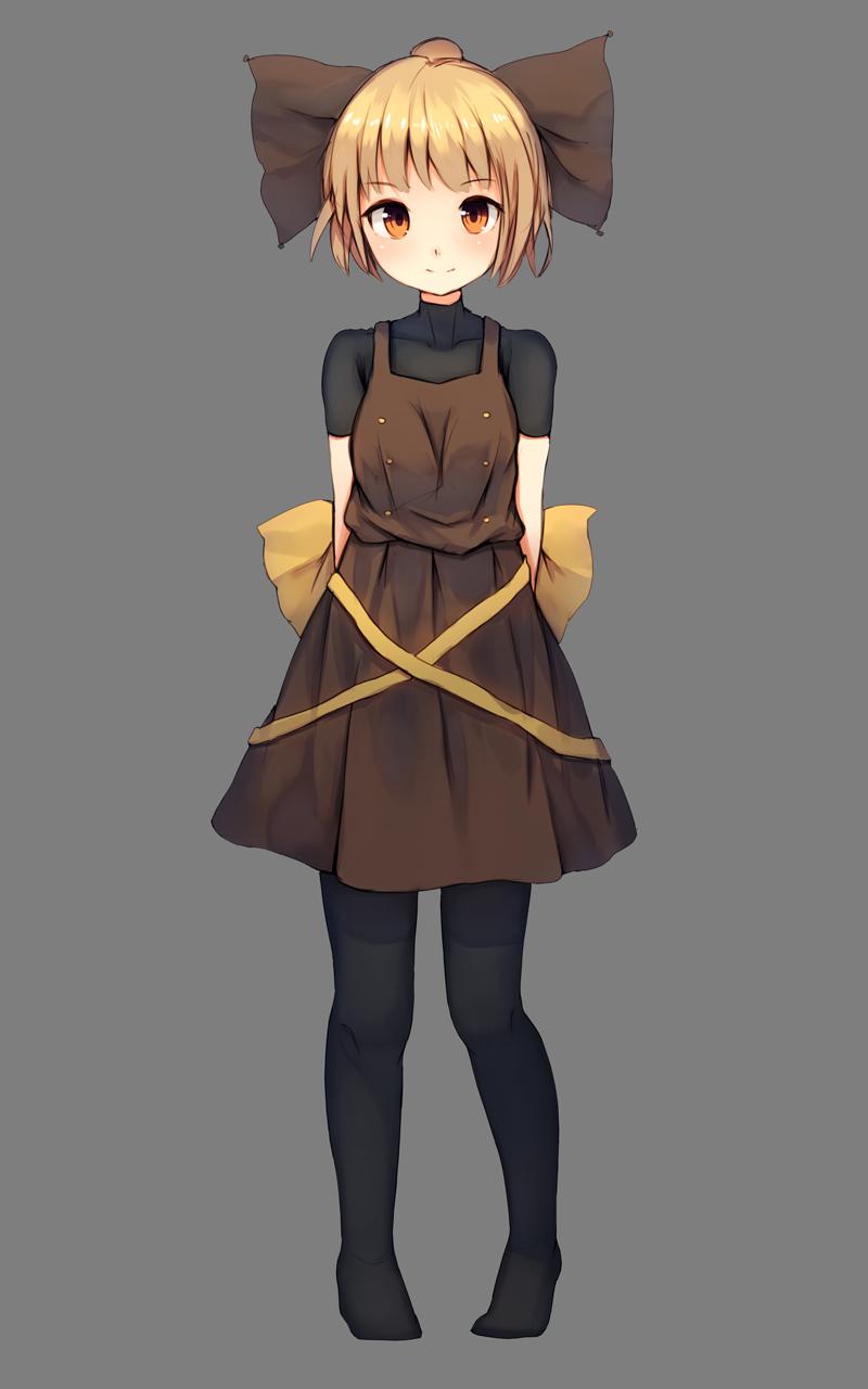 Safebooru - 1girl ahoge arms behind back blonde hair blush