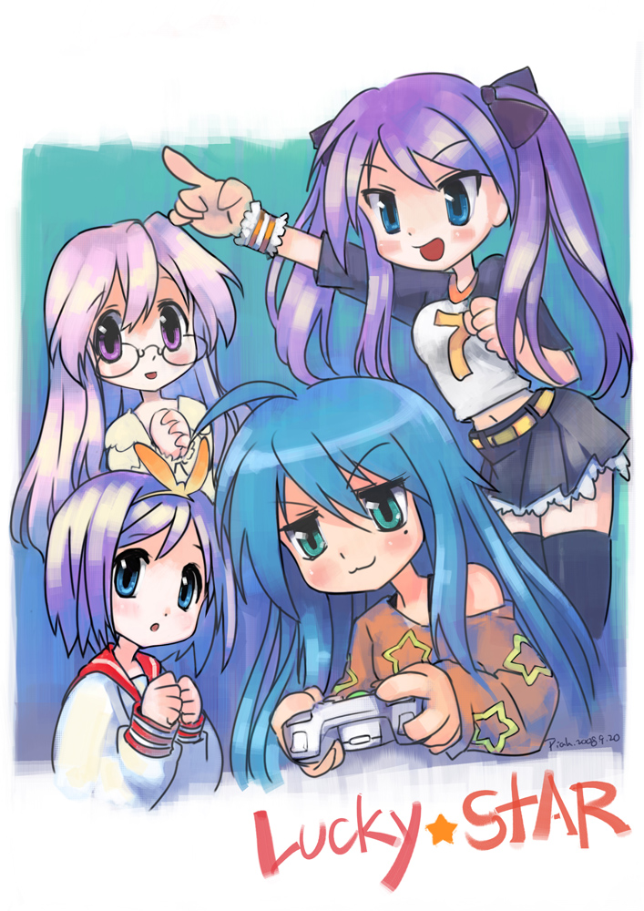 Lucky star konata video games