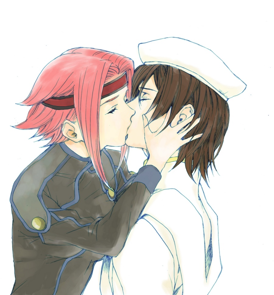 Lelouch x kallen kiss