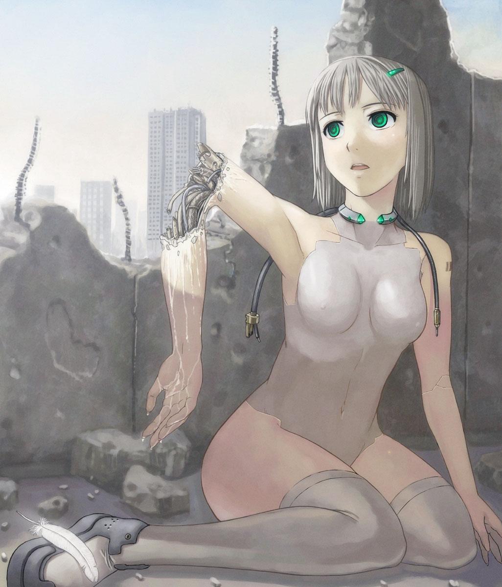 Nude robot woman porn pornos scene