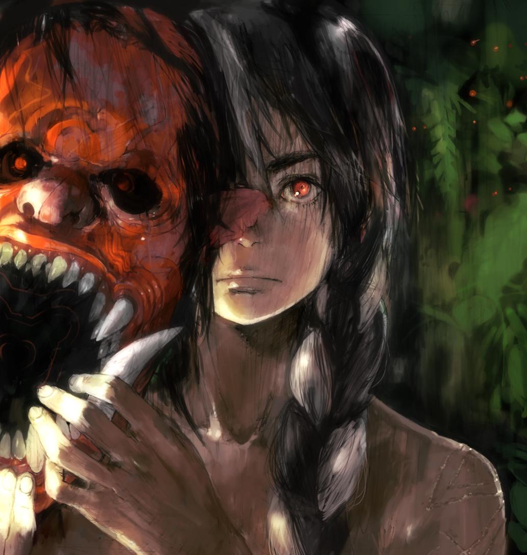 Демон за маской картинки