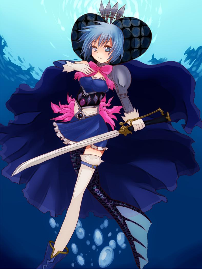 How to make a sword  Puella Magi Madoka Magica SayakaCosplay prop tutorial