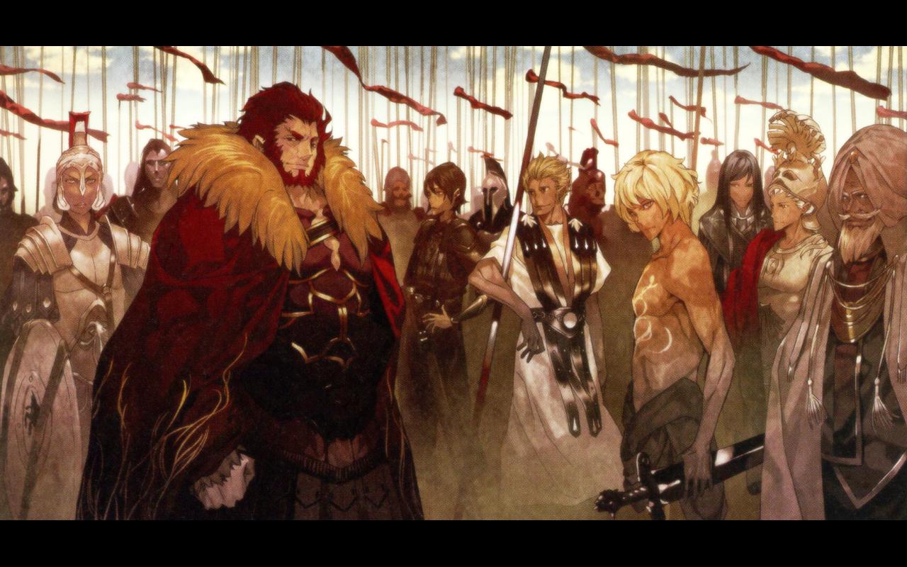 Iskandar Fate Zero A Real Hero Not My Art Anime