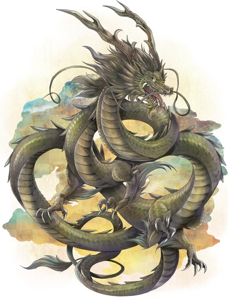 Желтый дракон, стихия
