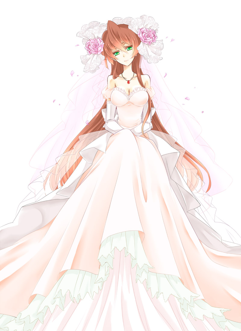 Anime Wedding Dresses High Cut Wedding Dresses