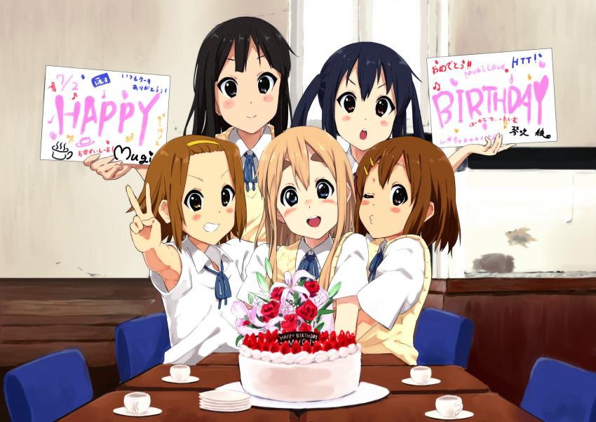 Поздравления с днем рождения подруге аниме