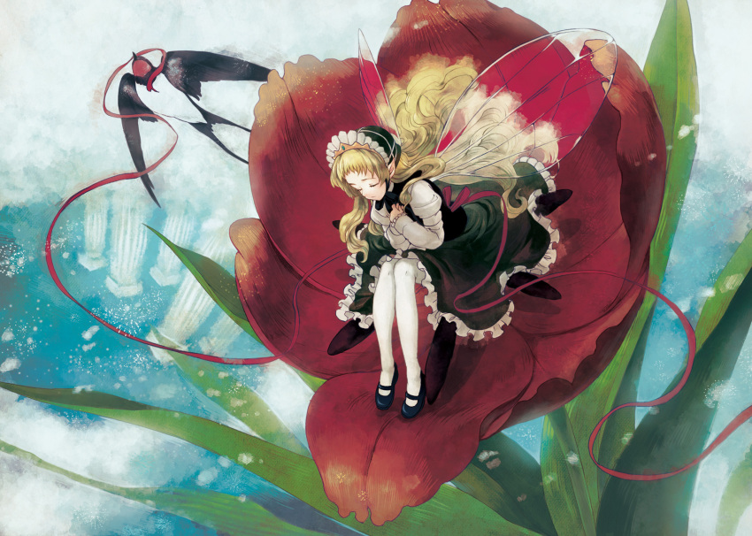 fiction and flower girl