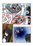 black_rock_shooter_(character) catstudio_(artist) comic left-to-right_manga prehensile_hair silent_comic vocaloid zatsune_miku rating:Safe score:0 user:Gelbooru