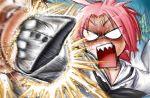 face_punching kogami_akira lucky_star oversized_clothes pink_hair punch punching school_uniform serafuku sharp_teeth shiraishi_minoru ujiga_waita rating:Safe score:0 user:Gelbooru