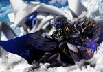 1boy armor blurry blurry_background cape clouds fate/grand_order fate_(series) glowing glowing_eye helmet kawabata_yoshiro male_focus mecha odysseus_(fate/grand_order) steam rating:Safe score:0 user:danbooru