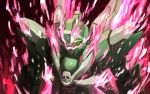 crossbone_gundam crossbone_gundam_ghost fire glowing glowing_eyes gundam highres looking_down mecha no_humans open_mouth phantom_gundam pink_flame pirate qoo8736 skull solo yellow_eyes rating:Safe score:0 user:danbooru